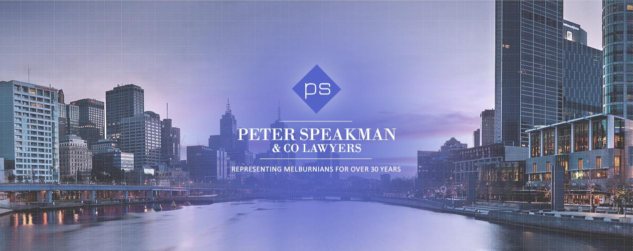 Peter Speakman & Co Lawyers