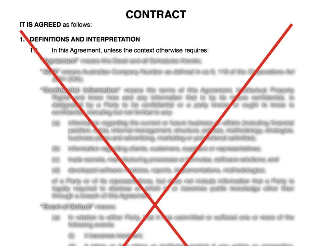 New Small Business Unfair Contract Term Regime
